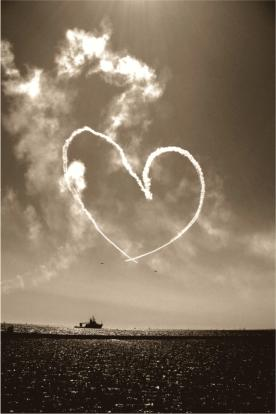 A to Z Illusions - Heart in the sky photograph