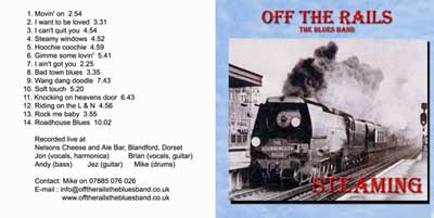Off the Rails - The Blues band
