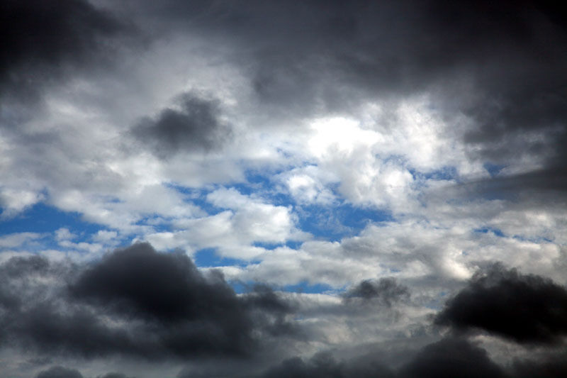 Clouding up over Puddletown Forest phot