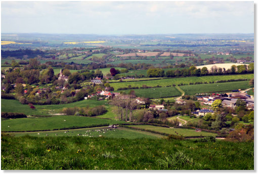 The view over North Dorset - photo